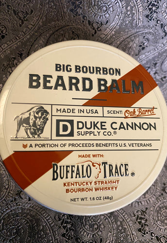 Duke Cannon Oak Barrel Beard Balm