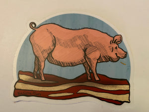 Pig On Bacon
