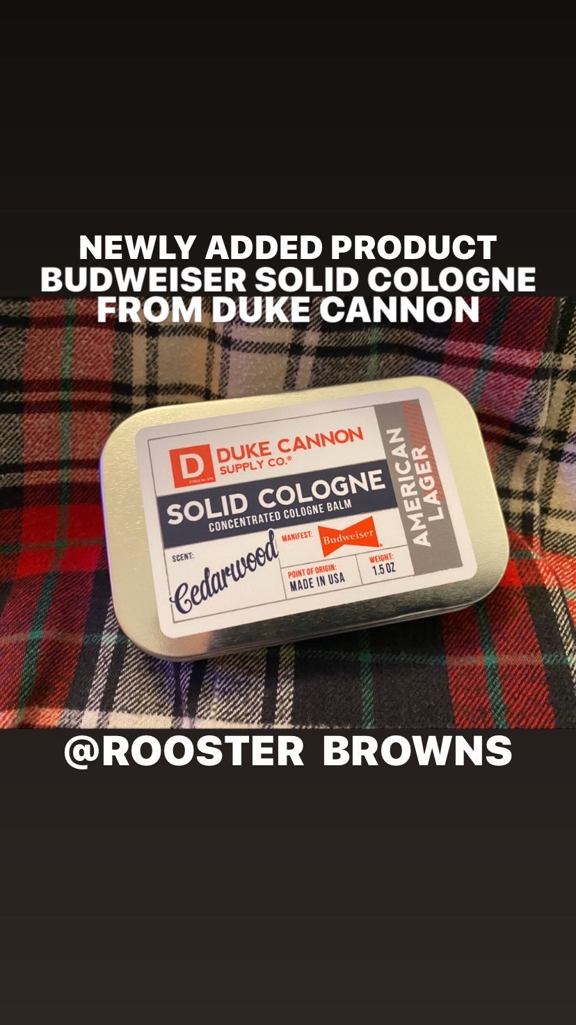 Duke Cannon Cedarwood Solid Cologne