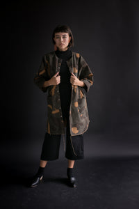 Super Wide Coat in WW2 Hungarian Camo