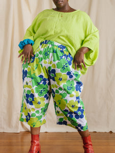 Easy Pant in Green Gardens