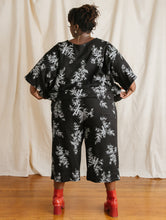Mid Easy Pant in Bamboo Printed Linen