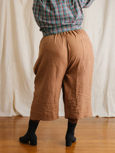 Easy Pant in Biscuit Linen