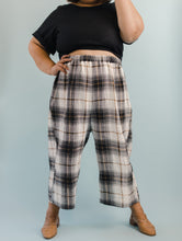 Easy Pant in Brown Plaid