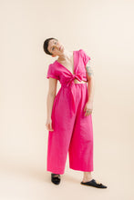 Easy Pant in Hot Pink Linen