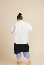 Pocket Jacket in Squiggle Embroidery