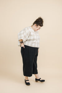 Easy Go-To Black Rayon Pant