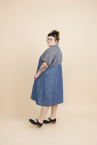 Pocket Dress in Chambray