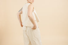 Pocket Pant in Natural Cotton Denim