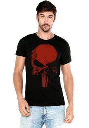 PLAYERA PUNISHER LOGO ROJO