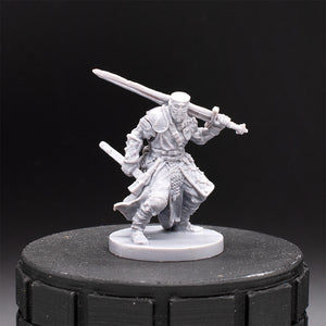 Curthouse - Paladin - Dark Rituals - Unpainted Miniature