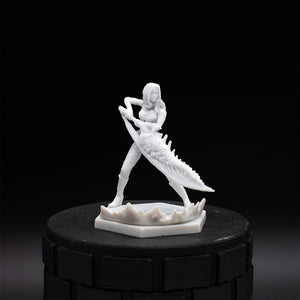 Devil Trigger Trish - Devil May Cry - Unpainted Miniature