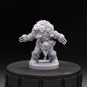 Beorn - Shapeshifting Druid - Dark Rituals - Unpainted Miniature