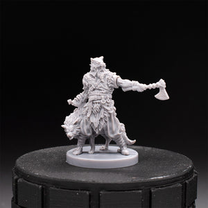 Alaric the Ranger - Barbarian - Dark Rituals - Unpainted Miniature