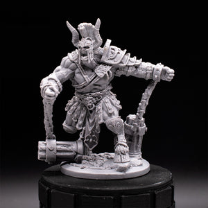 Minotaur Unleashed - Black Rose Wars - Unpainted Miniature
