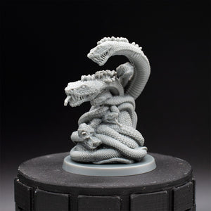 Writhing Giant Snake Mound - Bloodborne - Unpainted Miniature