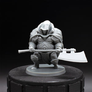 Executioner - Bloodborne - Unpainted Miniature