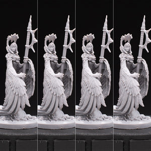 Arpia - Dark Fury - Black Rose Wars - Unpainted Miniature