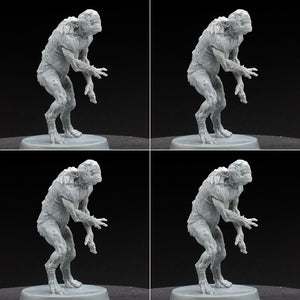 Thoul - Ghoul - Cthulhu DMD - D&D - Unpainted Miniature