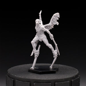 Stilt Crow Cultists - Slaughter Crows - Edge Dawnfall - D&D - Unpainted Miniature