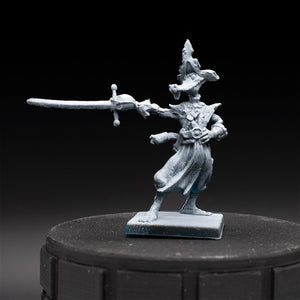 Alligator Pirate - Rum & Bones - D&D - Unpainted Miniature