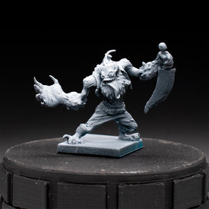 Merman Pirate - Rum & Bones - D&D - Unpainted Miniature