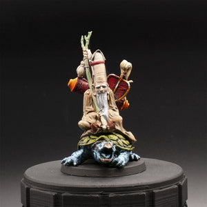 Druid - Fukurokujo - Rising Sun - Painted Miniature - D&D