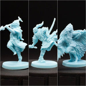 Mini 3 Pack - Dragonfly - D&D - Unpainted Miniature