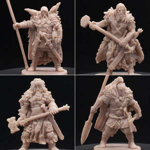 4 Pack - Warriors - Barbarians - Blood Rage - D&D