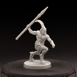 Faun - MBP - Dungeons & Dragons - Unpainted Miniature