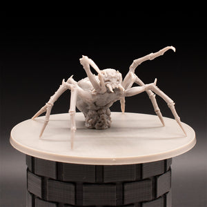 Giant Spider - Massive Darkness - D&D - Unpainted Miniature