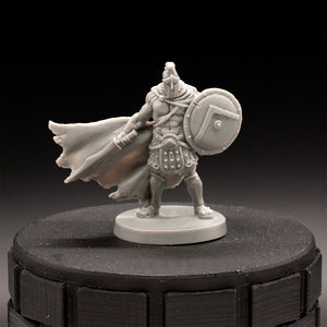 Spartan Fighter - MBP - Dungeons & Dragons - Unpainted Miniature