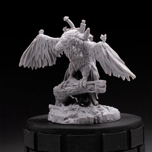 Evil Eagle - Hammerbeak - Tainted Grail - D&D - Unpainted Miniature