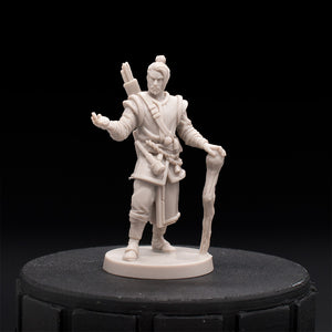 Mage - Druid - Monumental - D&D - Unpainted Miniature