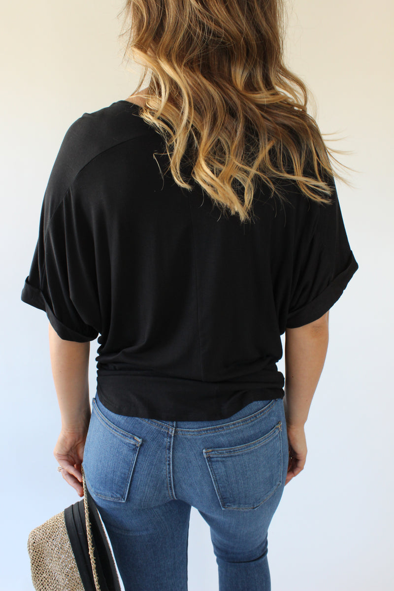 Folded Short Sleeve Tee