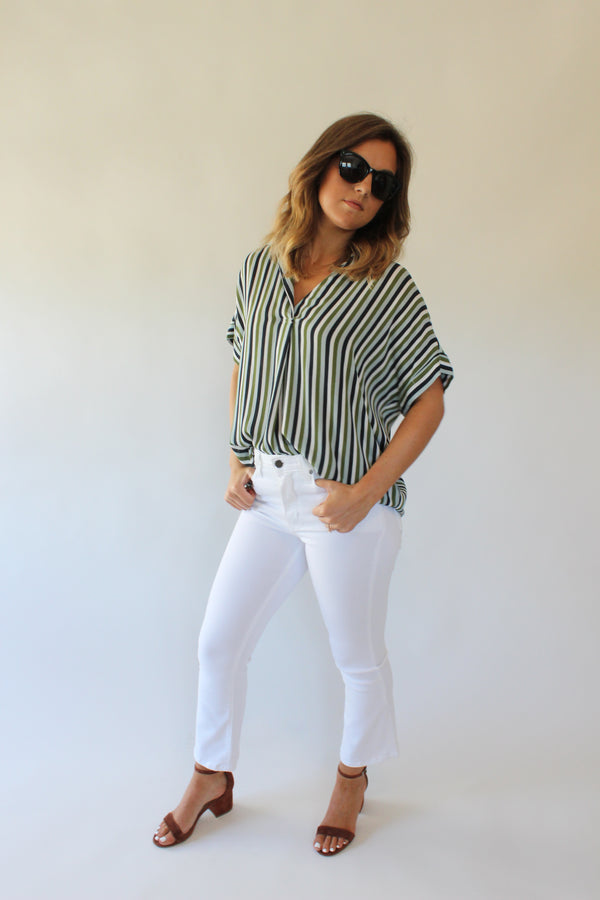 Fleetwood S/S Stripe Top