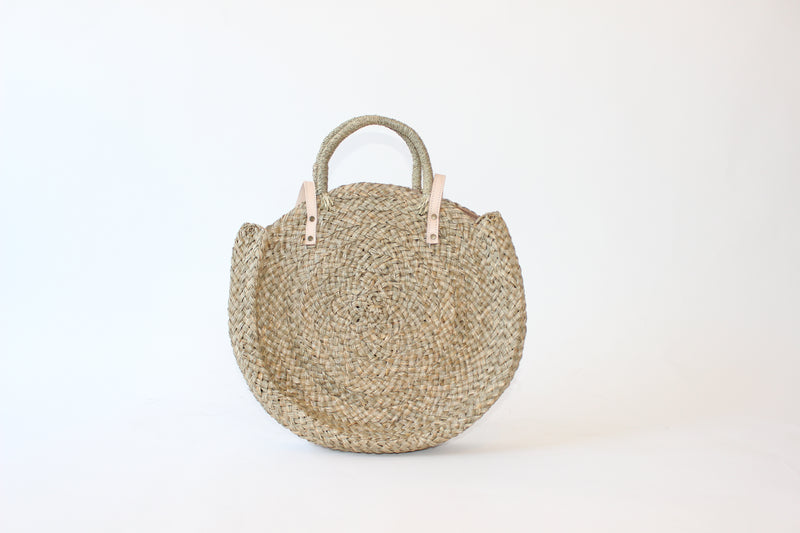 Large Beach Circle Bag
