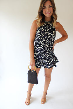 Spotted That Way Romper