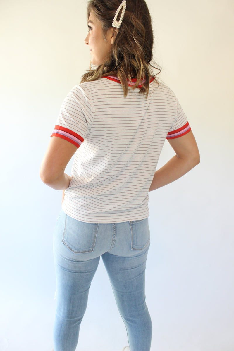 Stripes Out Tee