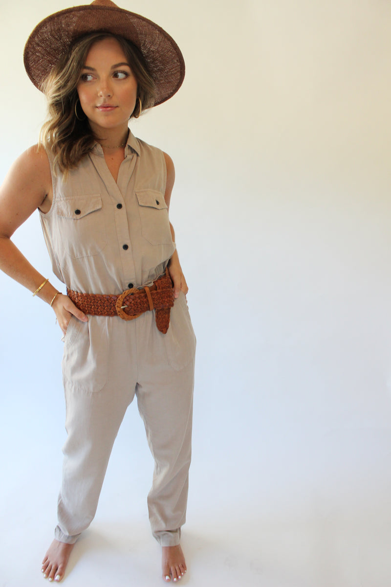 Bailey Button Up Jumpsuit