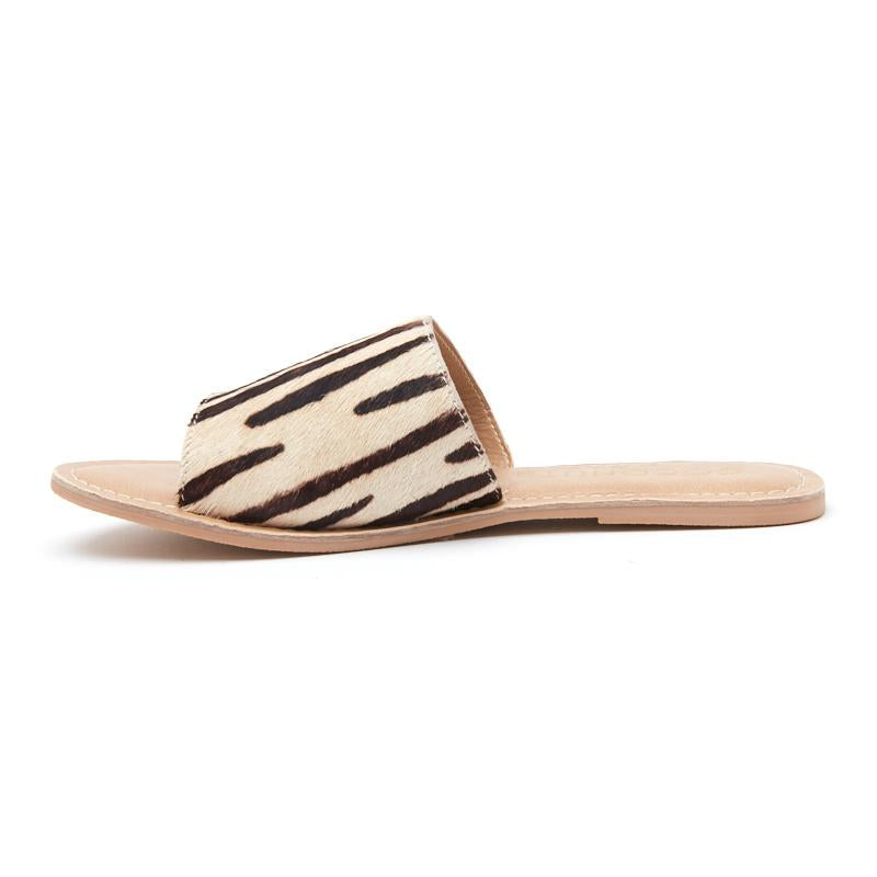 Cabana Cow Hide Slide