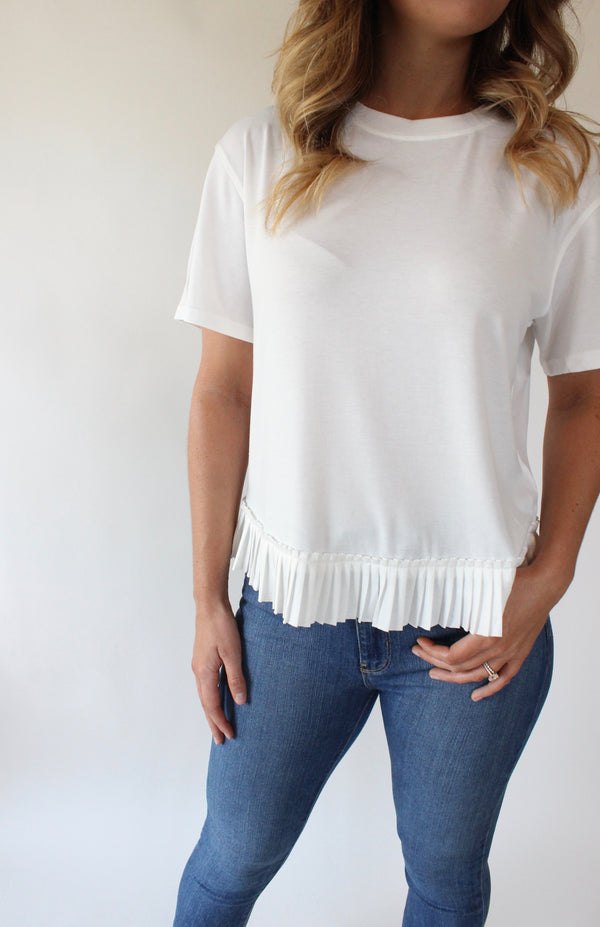 The Pleat Tee