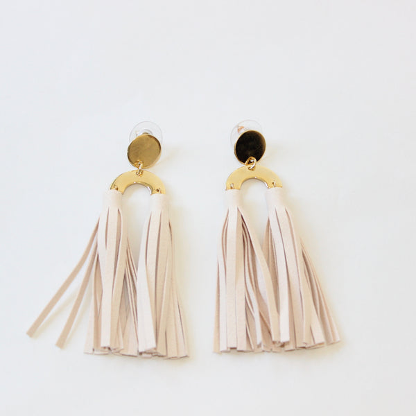Tassel Post Earring