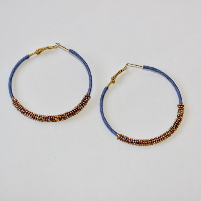 Wrap Around Hoop Earring