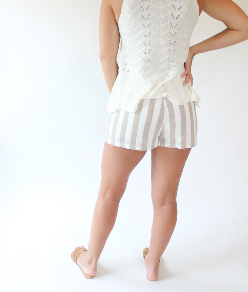 Kennedy Stripe Short