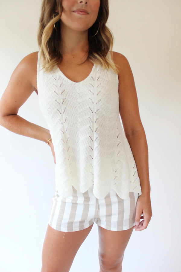 Crochet All Day Tank
