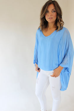 Periwinkle Dreams Top