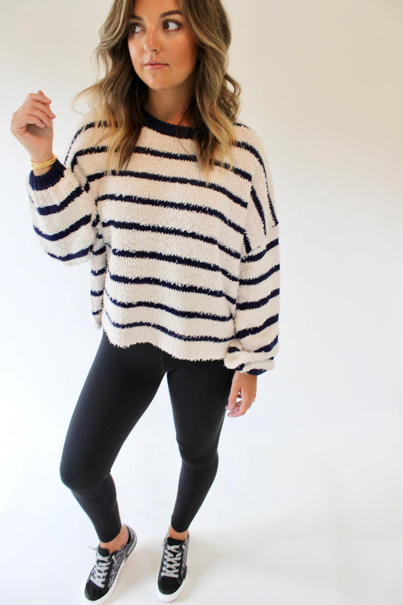 Jasmine Stripe Sweater