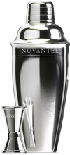 Load image into Gallery viewer, Nuvantee Cocktail Shaker - Premium Bar Set w/Free Jigger & Recipes(e-Book) 24oz w/Built-in Strainer