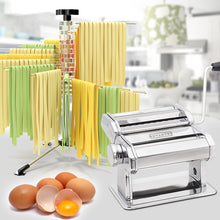Load image into Gallery viewer, Nuvantee Drying Rack - Noodle Dryer - Spiral Design Holds 4.5 Pounds (2 KG) of Fresh Pasta - Easily Dries All Long Noodles - Features 16 Food Grade BPA free Rods